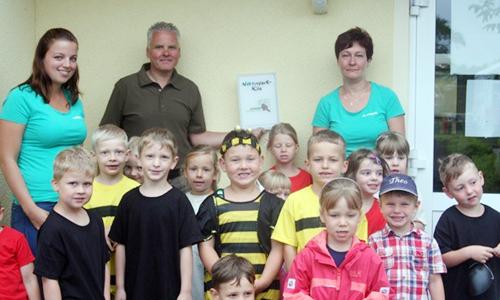"Kita1 Kita ""Wirbelwind"" ist Sachsens erster Naturpark Kindergarten"
