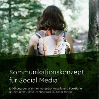 Titelseite des neuen Kommunikationskonzeptes für die Dübener Heide (C) Markov&Markov