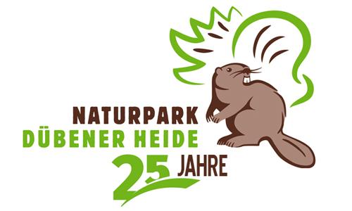 Logo25 25 Jahre Naturpark Dübener Heide