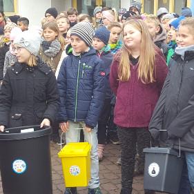 Müllprojektwoche an der Grundschule Eilenburg-Berg (C) VDH
