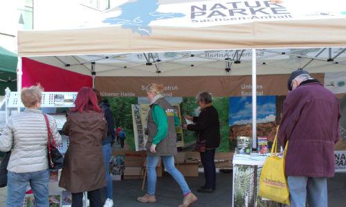 NP500 Naturparks in Sachsen Anhalt präsentierten sich in Halle