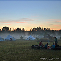 Abende im Camp Trampelpfad (C) barfuß e.V. / Maria Stelzer