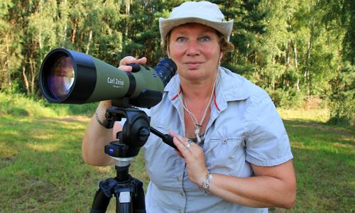 Naturparkführerin Birgit Rabe5 Den Naturpark Dübener Heide am Abend erleben