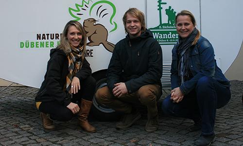 Neue Mitarbeiter Oktober 2018 Bunt wie der Herbst: Neue Mitarbeiter im Naturpark Dübener Heide