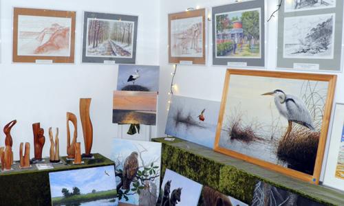 """PC020030 1 """"Wildtier Gemälde & Illustrationen"""" –  neue Ausstellung im NaturparkHaus"""