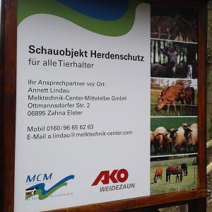 Schauobjekt Herdenschutz (C) VDH