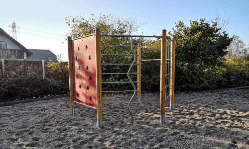 Spielplatz Zinna C Regionalmanagement Dübener Heide 500 Zukunft selbst gestaltet: Torgauer Ortsteil Zinna hat neuen Spielplatz