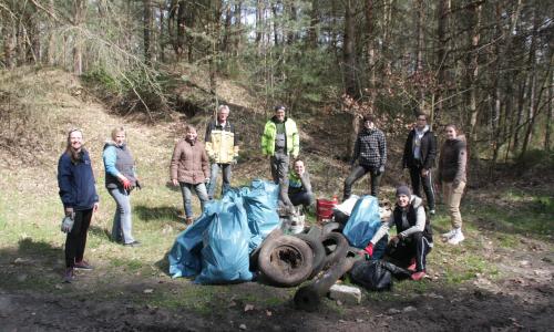 StadtwaldRegioCrowd 500 Axel Mitzka Frühjahrsputz am Jösigk statt Training in der Halle