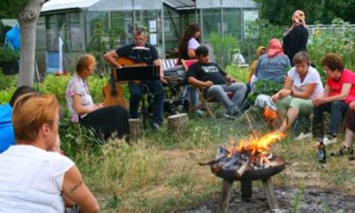 Urban Gardening Bad Dueben Foto VDHeV 500 300 Nikolausfeier im Gemeinschaftsgarten am Wasserturm