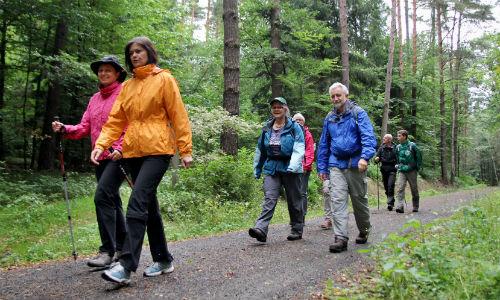 Wandern500 Gästeführer des Naturparks Dübener Heide präsentieren sich