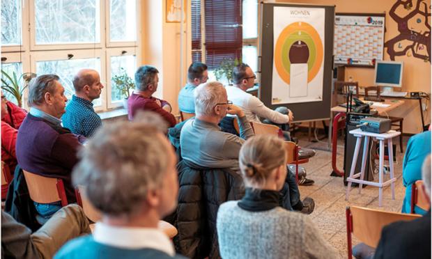 Workshop Arbeiten und Wohnen 500 300 C commlab 620x372 Wohnen, Arbeiten und Erholen in der Dübener Heide: Zukunftsideen für eine starke Region gesucht