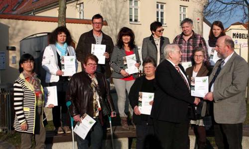 Zertifizierung 18 Gastgeber in der Dübener Heide als besonders wanderfreundlich zertifiziert