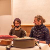 Aviva Goesch und Stephan John von der Goldstaubmanufaktur (C) ABISZET Wittenberg