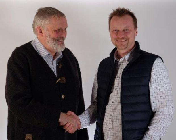 Geschäftsführerwechsel im NP Fichtelgebirge Ronald Ledermülller Christian Kreipe s 620x493 Wechsel in der Geschäftsführung des Naturparks Fichtelgebirge