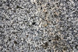 Granitsteinwand
