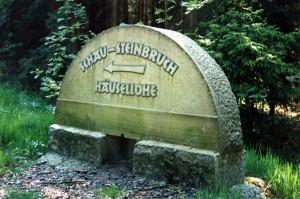 Häuselloh; Schausteinbruch 02; 1995 - Popp