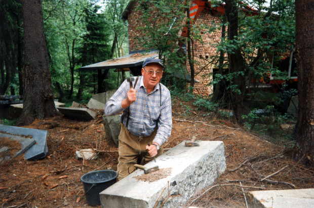 Häuselloh Schausteinbruch 03 1993 Popp 620x412 So, 30.04., 14 16.30 Uhr: Wanderung in die Erdgeschichte – Besuch im Diabas Steinbruch