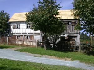 Haus aus Saalenstein Kleinlosnitz