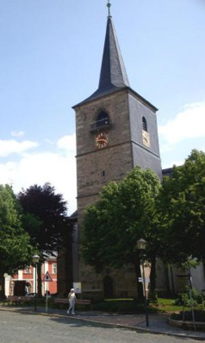 Kirche Weißenstadt Freitag, 26.02., 20 22 Uhr: Abenteuerliche Nachtführung durch Weißenstadt