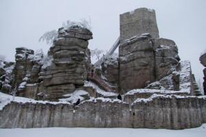 Winter Ruine Weißenstein ckr