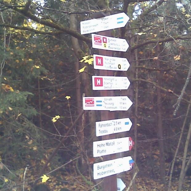 kösseine 2 620x619 Der Fichtelgebirgsverein will die Qualität der Wanderwegemarkierung steigern