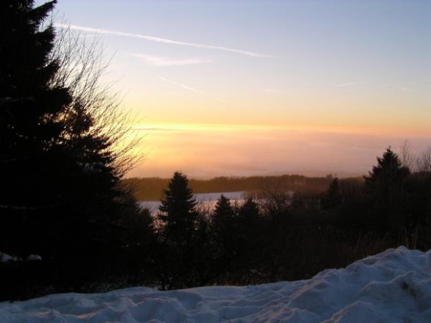 Abendsonne Schnee 20.02.2003 620x465 Die Badestube der Frau Holle