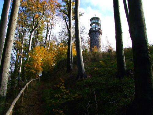 Bilsteinturm im Herbst c Marco Lenarduzzi Bilsteinturm im Kaufunger Wald