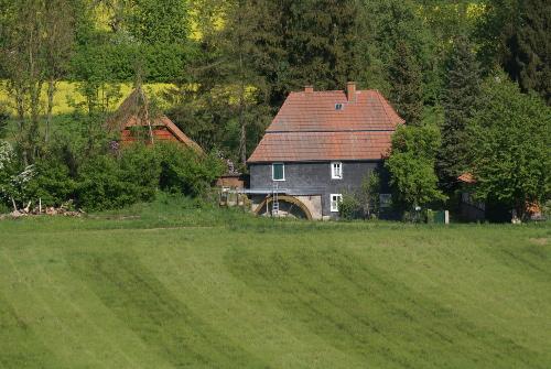 Blaue Mühle in Frankershausen c Andrea Imhäuser Frankershäuser Mühlenpfad