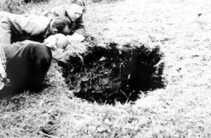 Blick in das Kuhloch 1958