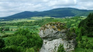 Blick zum Meißner (c) Geo-Naturpark Frau-Holle-Land