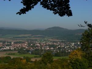 Bode-Blick auf Wanfried vom Premiumweg P12 Mainzer Köpfe (C) Anja Laun