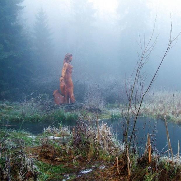 Frau Holle im Nebel c Marco Lenarduzzi 620x620 Denk Pfad® Frau Holle