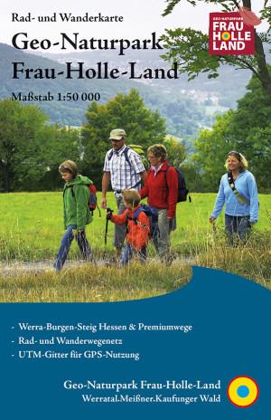Geo-Naturpark Frau-Holle-Land, Titel Rad- und Wanderkarte