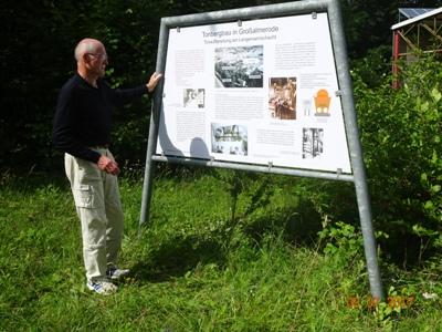 Hermann Harder am Lehrpfad Groa C gesendet von Ute harder Tiegel, Ton und Tassen Route