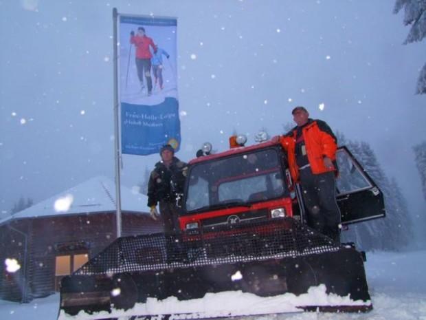 Loipe 10.12.12 Foto 1 620x465 Liegt noch Schnee am Hohen Meißner?