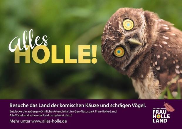 Poster Kauz Innenmarketing 620x440 Alles Holle! im Geo Naturpark Frau Holle Land