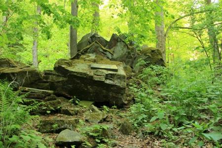 Seesteine c Gerhard Schäfer Geologisch wandern   zu den Basaltformationen am Hohen Meißner