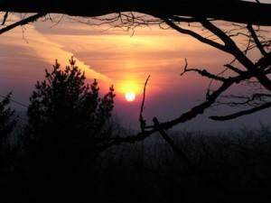 Bransrode, Sonnenuntergang (c) Geo-Naturpark Frau-Holle-Land