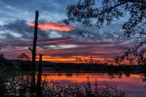 Sonnenuntergang am Werratalsee (c)Kai Weishapl