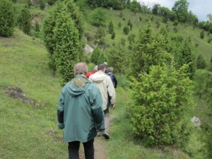 Wanderung durch das Naturschutzgebiet Kripplöcher(c)Claudia Krabbes