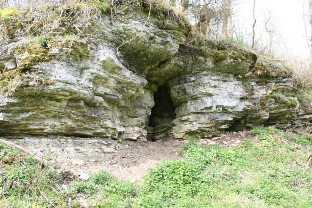 Wichtellöcher bei Ulfen am P21 c Stefan Zänker 620x414 Am Tag des Geotops in den Ulfener Karst