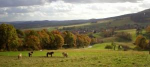 Frankershausen im Herbst (c) Hanna Wallbraun