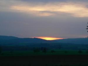 Sonnenuntergang (C) Naturpark MKW