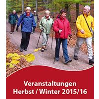 2015 Veranstaltungsprogramm Herbst-Winter