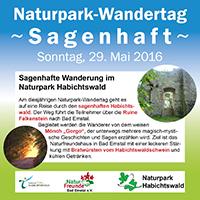 2016-04-20 Plakat Naturpark-Wandertag