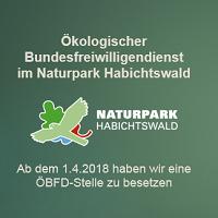 88 Neue ÖBFD Stelle im Naturpark Habichtswald