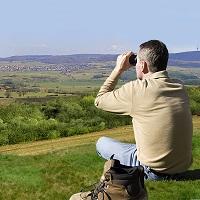 Blick vom Bärenberg