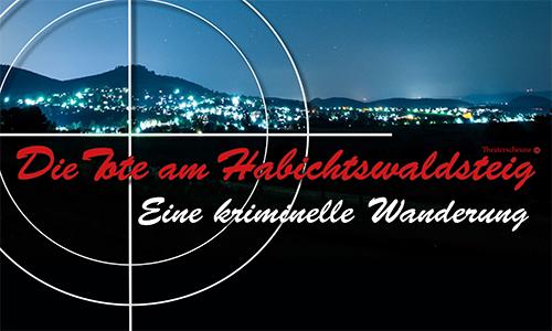 Der Tote am Habichtswaldsteig Krimiwanderung: Die Tote am Habichtswaldsteig