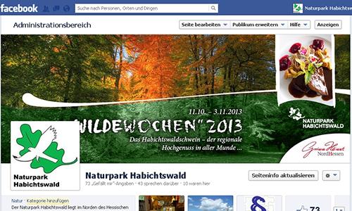 Facebook Der Naturpark Habichtswald bei Facebook