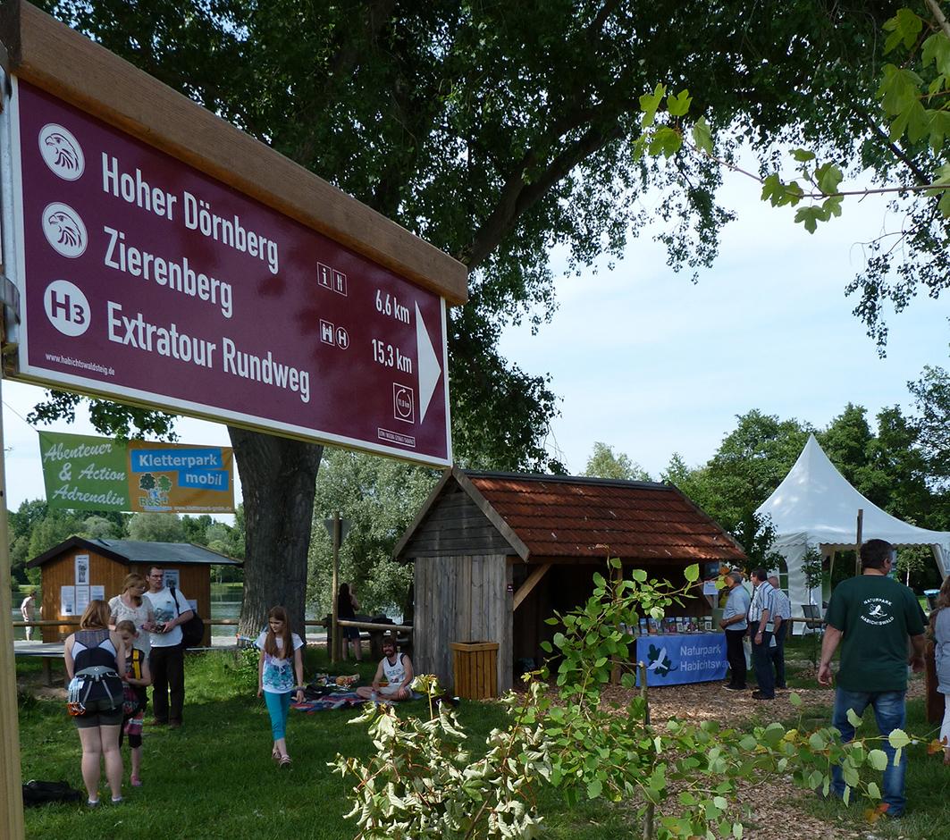 Hessentag Hessentag Kassel   Mit dem Kletterwald Kassel im Naturpark Habichtswald hoch hinaus